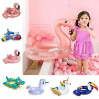 24 Style Inflatable Circle Baby Flamingo Float Swimming Ring Inflatable Unicorn