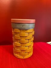 New ListingLongaberger No. 2 Pencil Basket Set Nwot Rare and Htf