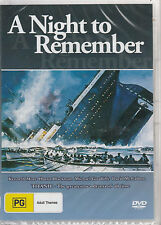 KENNETH MORE A Night To Remember * NEW & SEALED * Region 0 (Plays on any Player!