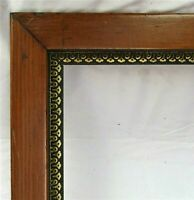 "ANTIQUE FIT 22X 28"" WOODEN PICTURE FRAME FINE ART ORNATE GOLD GILT VICTORIAN"