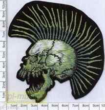 = SKULL / PUNK -embroidery patch,aufnäher,naszywka-wprasowanka CZASZKA