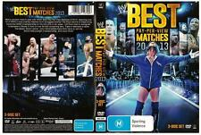 *WWE: BEST PAY-PER-VIEW MATCHES 2013*   DVD