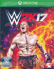WWE 2K17 Xbox One Game (with Goldberg DLC) BRAND NEW SEALED