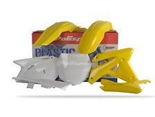 SUZUKI Plastic Kit RMZ 450 2007 ONLY OEM Yellow White motocross polisport 90124