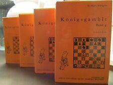 Königsgambit, Band 1-4, H. Harro Dahlgrün. (Echecs: Gambit du roi)