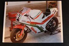Postcard Bimota Ducati DB1 1986 #32 Davide Tardozzi, Assen