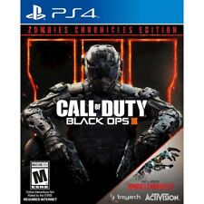 Call of Duty Black Ops III 3 Zombies Chronicles Edition Sony Playstation 4