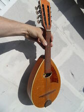 vintage instrument Mandoline 8 cordes CREMONA TCHECOSLOVAQUIE deco collection !!