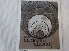 Bam Box Exclusive War of the Worlds Art Print signed by artist Chris Garofalo MI