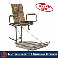 Hang On Tree Stand Extreme Comfort Deer Hog Hunting Bow Gun Elevated Platform