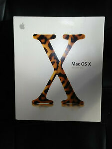 Apple Mac OS X 10.2 Jaguar - Complete Retail Boxed Copy - Very Rare
