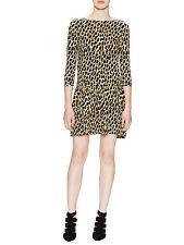 Rachel Pally 3/4 Sleeve Yarrow Python Printed Sissy Dress $207 SAKS Size S NEW
