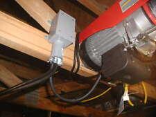 1300 LB 110 Volt Electric Overhead Power Lift Hoist with Remote Control
