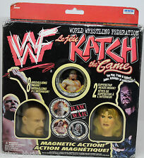 WWF WWE Katch the Game Stone Cold Steve Austin Sable Val Venis Magnetic Action