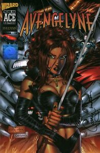 Avengelyne Wizard Ace Edition High Grade Comic Book Signed Cathy Christian w/COA