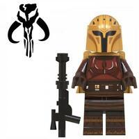 The Armorer Mandalorian Star Wars Custom Minifig Mini Figure 72