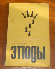 G.KASPARYAN CHESS TASKS PROBLEMS ETUDE STUDIES 1972 SOVIET BOOK in RUSSIAN