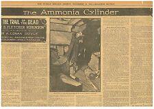 Arthur Conan Doyle By Fletcher Robinson Ammonia Cylinder  November 12 1905 B24