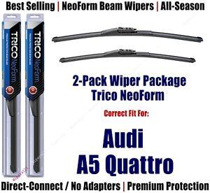 2pk Super-Premium NeoForm Wipers fit 2019+ Audi A5 Quattro CONVERT - 162413/2113