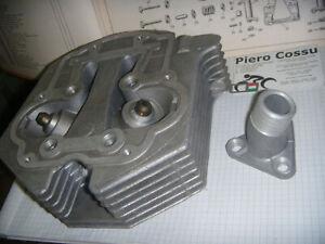 Moto Guzzi Stornello 125 REGOLARITA' SPORT TRIAL SCRAMBLER AMERICA TESTA + PIPA