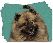 More details for keeshond dog picture placemats in gift box, ad-kee1p