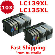 10X Ink Cartridge LC-139XL LC139XL LC135XL For Brother J6520DW J6720DW J6920DW