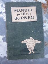 Ancien manuel du pneu Michelin 1924
