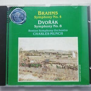 Brahms / Dvořák: Symphonies / Munch / BSO / RCA Victor CD 09026-61206-2