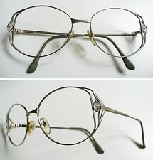 Giorgio Armani strass montatura per occhiali vintage frame 1990s