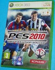 Pes 2010 - Pro Evolution Soccer - Microsoft XBOX 360 - PAL