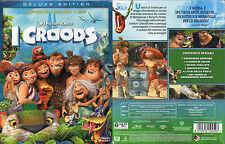 I CROODS -  BLU-RAY 3D + BLU-RAY + DVD (NUOVO SIGILLATO) SLIPCASE