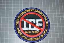 DEA Honolulu Hawaii Resident Office Patch (B17-9)
