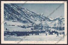 BELLUNO PIEVE DI CADORE 46 POZZALE - GARE di SCI - SKI - Gennaio 1915 Cartolina