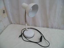 Vintage lampe de bureau articulée flexible