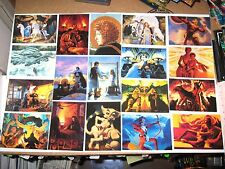 1993 Greg Hildebrandt Series II 2 30 Years of Magic 90 FANTASY ART Card Set!