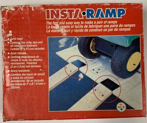 Vintage 1997 InstaRamp Ramp Kit Motorcycle ATV Lawn Mowers Solid Steel! New!