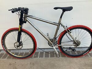 Merlin Fat Beat Titanium Mountain Bike - Moots YBB Suspension