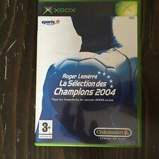 ROGER LEMERRE La selection des Champions 2004  X BOX