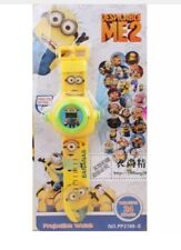24 Image Despicable Me Minions Projector Projection Light Wrist Watch Toy 3
