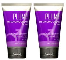 2 x Doc Johnson PLUMP Enhancing Cream For Men Gives THICKER,LARGER,HARDER PENIS