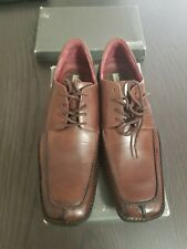 Kenneth Cole Reaction Size 9.5 Brown Leather Upper & Lining