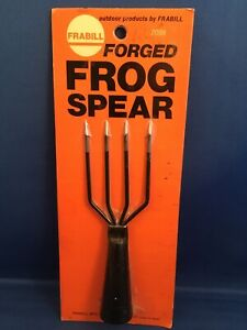 Vintage Frabill Forged Frog Spear