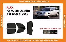 pellicola oscurante vetri audi a6 avant dal 1999 al 2005 kit posteriore