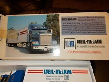 Weil Mclain Contractor Collection Series #5 Toy Tractor Trailer Replica Semi Rig
