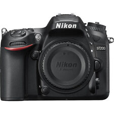 D7200 Nikon DX Format 24.2MP Digital SLR Camera Body with Wi-Fi and NFC
