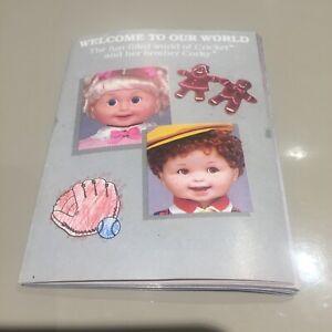 Cricket corky doll vintage 80s catalogue leaflet brochure