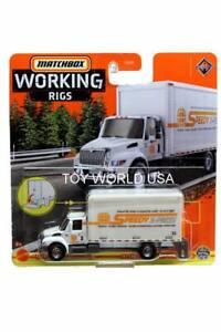2021 Matchbox Real Working Rigs #1/16 International MV Box Truck