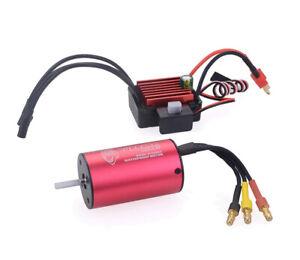 Rc Car Waterproof Brushless Motor Esc For Traxxas 1/16 Mini E-revo Slash Summit