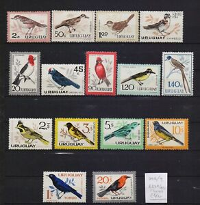 ! Uruguay 1962-1963.   Stamp. YT#706/709,A234/243. €44.00!