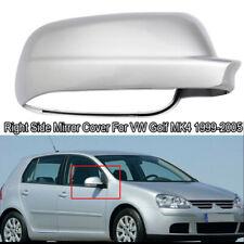 Right Rearview Mirror Cover Case Caps for VW Golf MK4 Jetta Passat B5 1999-2004